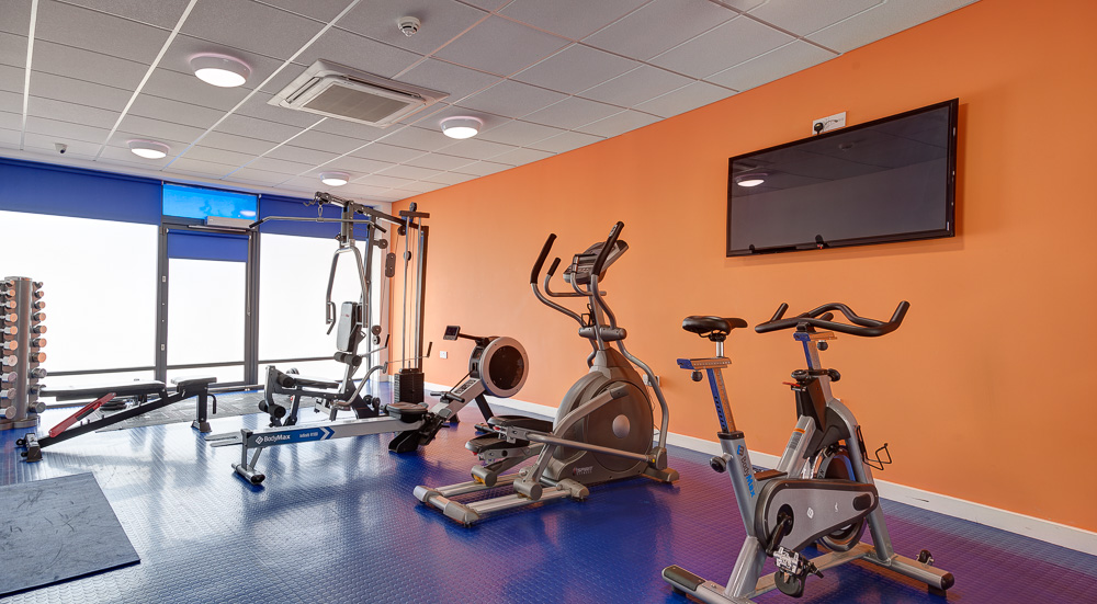 student gym in Rede House Middlesbrough