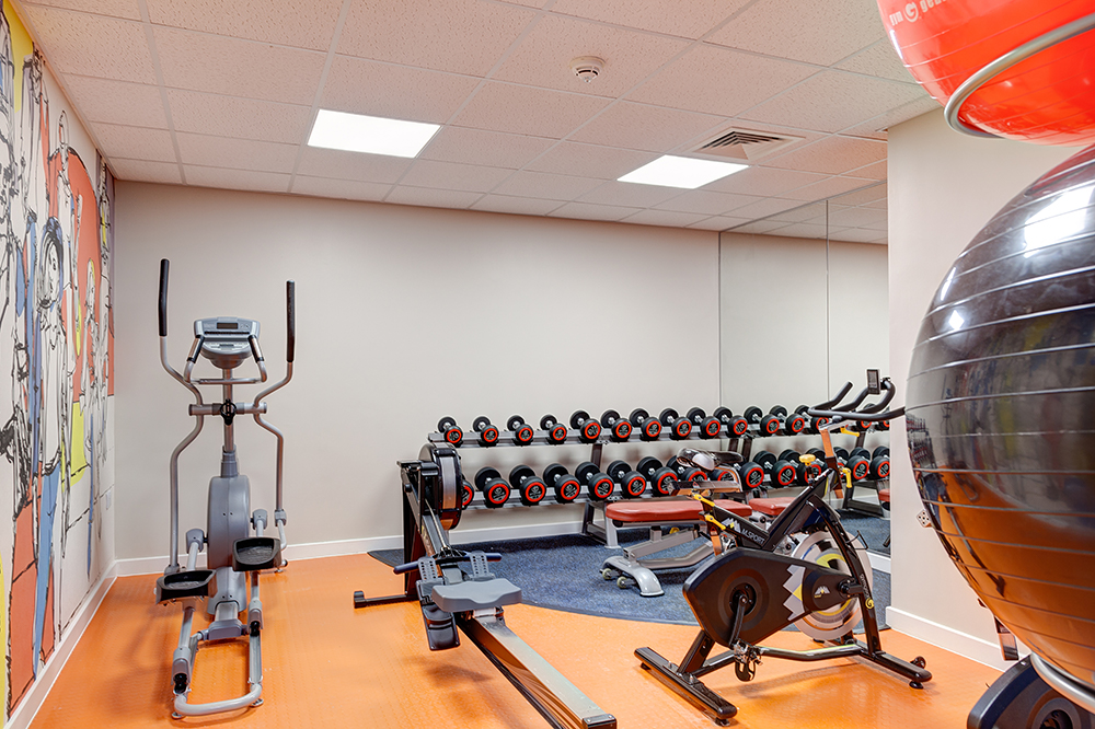 student gym in Stanley Court Liverpool