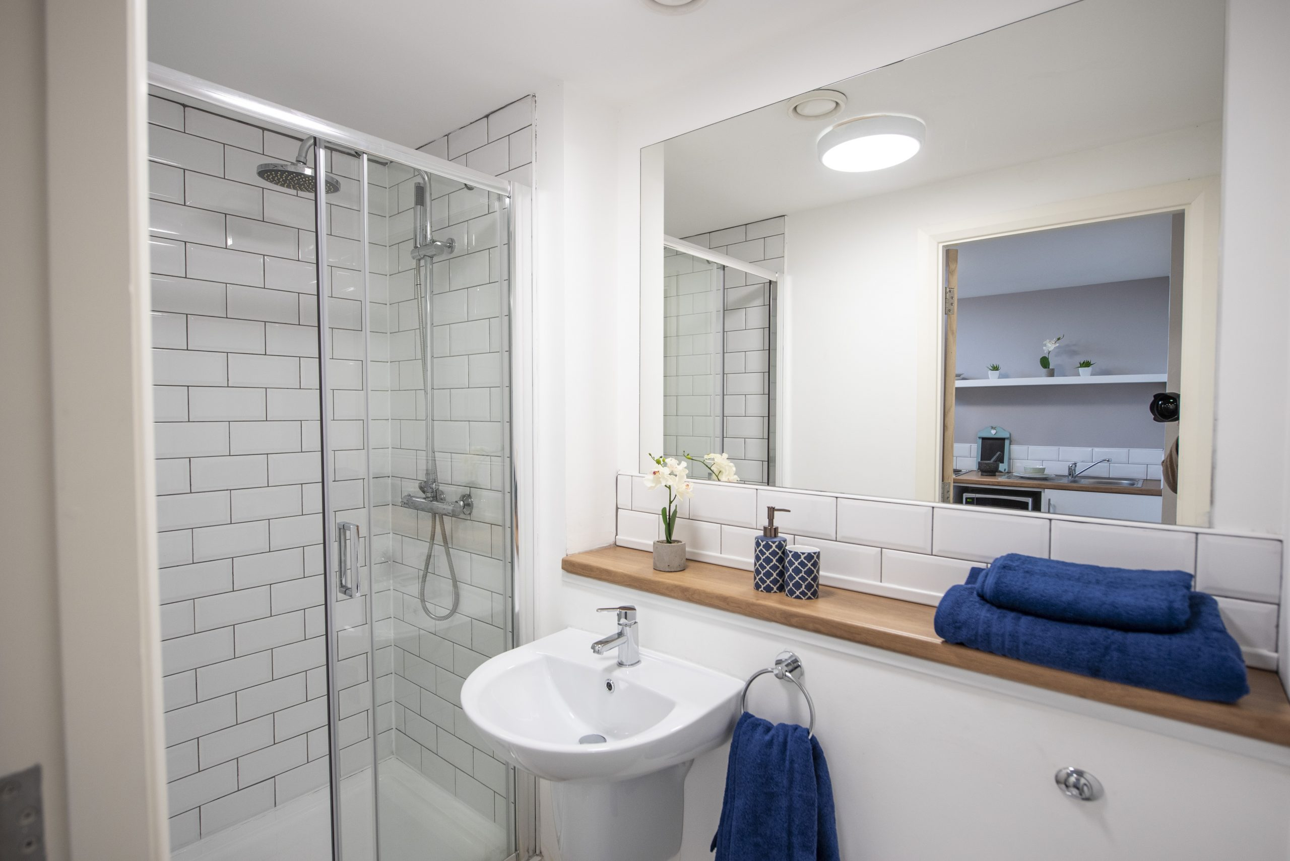 private en suite in St Cyprians, The Church Liverpool